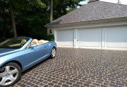 Driveway featuring Unilock Courtstone paver