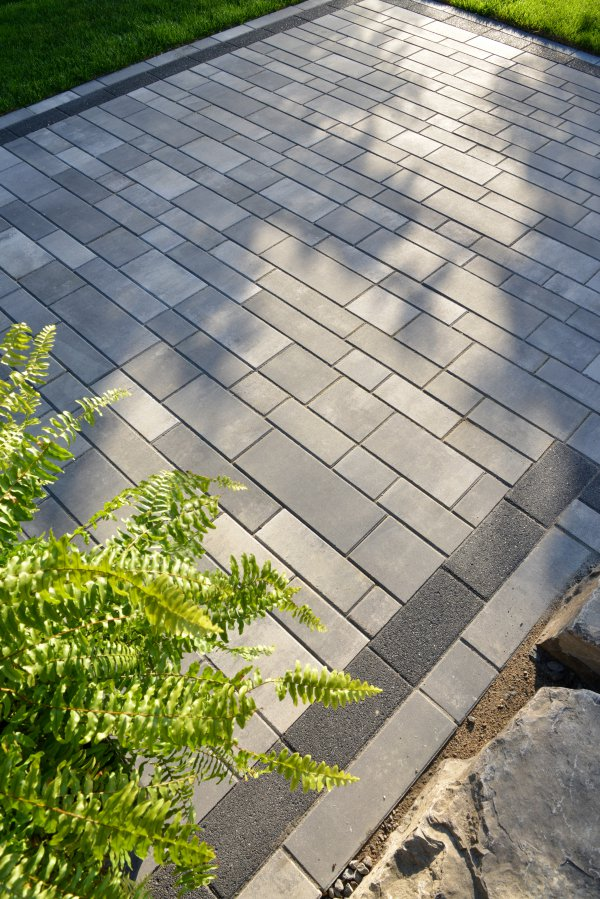 Front Entrance with Artline Paver by Unilock